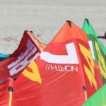 North Kiteboarding hat neue Modelle vorzuführen