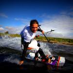 Kiteboarding wunderschön