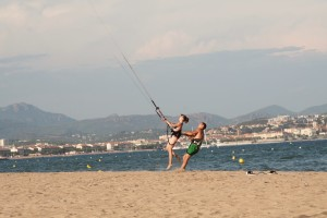 Fun at Kite Course